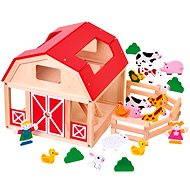 Bino Farma so zvieratkami - Herná súprava