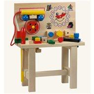 Bino Pracovný stôl s telefónom - Herný set