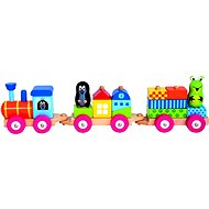 Bino Vlak s domčekmi – Krtko - Vláčik