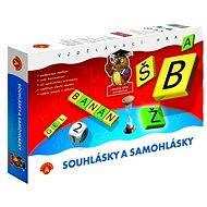 Spoluhlásky a samohlásky - Spoločenská hra