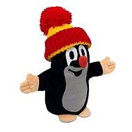 Krtko s červeno-žltou čiapkou - Plyšová hračka