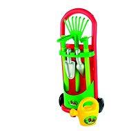 Vozík so záhradným náradím a krhličkou - Herná súprava