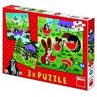 Krtek a dáždnik - Puzzle
