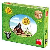 Dino drevené kocky kubus – Krtkov rok