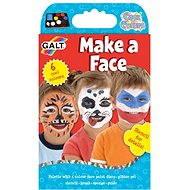 GALT Farba na tvár - Kreatívna súprava