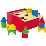 Woody Krabička na precvičovanie tvarov - Didaktická hračka