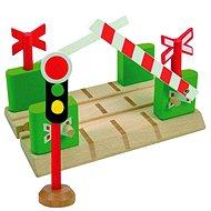 Woody prechod s bariérami - Príslušenstvo k vláčikodráhe