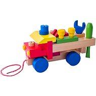 Didaktická hračka Woody Montážne auto - Didaktická hračka
