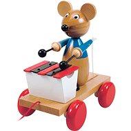 Woody Ťahacia myš so xylofónom - Ťahacia hračka