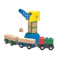 Woody - Príslušenstvo pre trate - Prepravný žeriav s magnetom - Príslušenstvo k vláčikodráhe