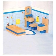 Woody Nábytok do domčeka - Kúpeľňa - Doplnok pre bábiky