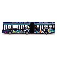 Kovový model Siku Blister - Kĺbový autobus - Kovový model