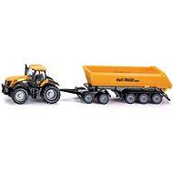Siku Farmer - Traktor so sklápacím prívesom - Kovový model