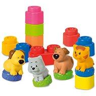 Clementoni Clemmy - Zvieratká - Stavebnica
