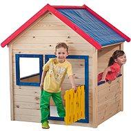 Woody Záhradný domček s farebným lemovaním - Detský domček