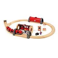 Brio World 33209 Železniční a silníční cestovní sada - Príslušenstvo k vláčikodráhe