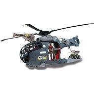 Wiky vojak s vojenskou technikou - Vrtuľník