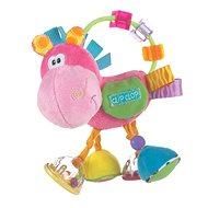 Playgro Hrkálka oslík ružový - Hrkálka