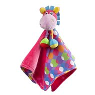 Playgro Cuddly Blanket with Donkey, Pink - Baby Toy