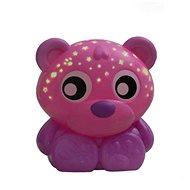 Playgro Uspávacia lampička medvedík s projektorom – ružový - Hračka pre najmenších