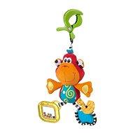 Playgro Závesná opička s klipsom - Závesná hračka