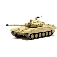 Tank Russian T-72 M1 Desert Yellow 1:72 - Tank na diaľkové ovládanie