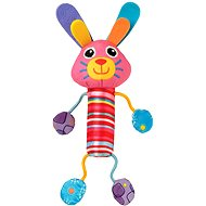 Lamaze - Pískatko zajačica Bella - Plyšová hračka
