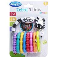Playgro - Zebra s krúžkami nová - Interaktívna hračka