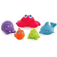 Playgro - Morské zvieratká 5 ks - Hračka do vody