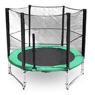 Trampolína s ochrannou sieťou G21 250 cm, zelená - Trampolína