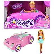 Bábika Sparkle Girlz v autíčku - Bábika