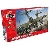 Airfix Model Kit A03087 Lietadlá - Junkers Ju87B-1 Stuka - Plastový model