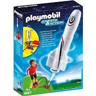 Playmobil 6187 Raketa s odpaľovacími zariadeniami - Stavebnica