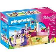 Playmobil 6855 Kráľovské stajne - Stavebnica