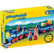 Playmobil 6880 Môj prvý vláčik s koľajami (1.2.3) - Stavebnica