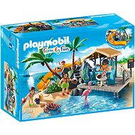 Playmobil 6979 Karibský ostrov s plážovým barom - Stavebnica