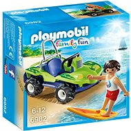 Playmobil 6982 Surfer s plážovou buginou - Stavebnica