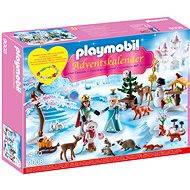 """Playmobil 9008 Adventný kal. """"Korčuľovanie v zámockom parku"""" - Stavebnica"""