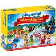 """Playmobil 9009 Adventný kal. """"Vianoce na statku"""" (1.2.3) - Stavebnica"""