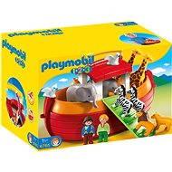 Playmobil 6765 Prenosná Noemova archa (1.2.3) - Stavebnica