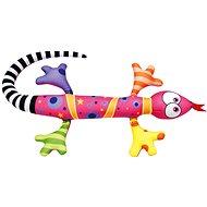 Bino Jašterica ružová 80 cm - Plyšová hračka