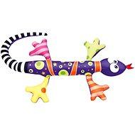 Bino Jašterica fialová 80 cm - Plyšová hračka