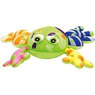 Bino Žaba farebná - Plyšová hračka