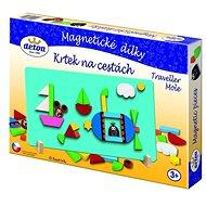 Krteček na cestách - Magnetické dílky - Puzzle