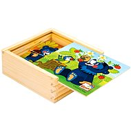 Bino Moje prvé puzzle, Baribal - Obrázkové kocky