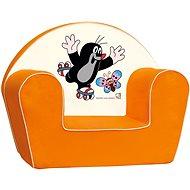 Bino Kresielko oranžové – Krtko - Detské kreslo