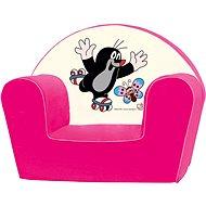 Bino Kresielko ružové - Krtko - Detský nábytok