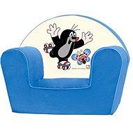 Bino Kresielko modré – Krtko - Detský nábytok