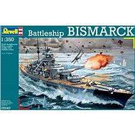 Plastic ModelKit loď 05040 – Battleship BISMARCK - Model lode