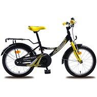 """Olpran Démon žlto/čierny - Detský bicykel 16"""""""